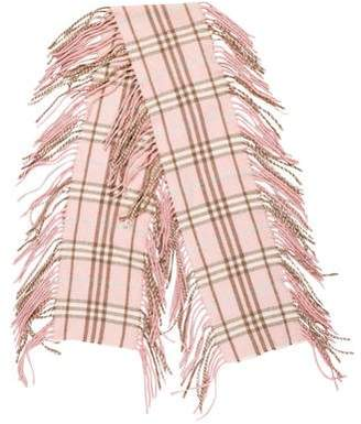 Burberry Happy Nova Check Cashmere Scarf
