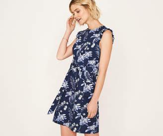 Oasis PALM SHIFT DRESS