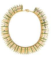 Ileana Makri Women's Grass Leaves Necklace - Green