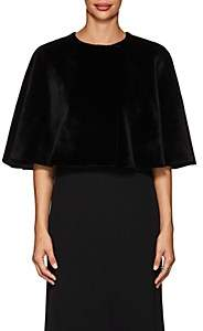The Row Women's Marcy Mink Fur Cape - Black