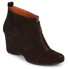 Ridgual Suede Booties $210 thestylecure.com