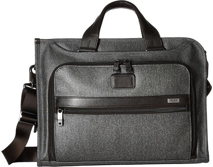TumiTumi - Alpha 2 - Slim Deluxe Portfolio Briefcase Bags