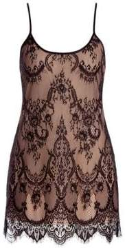 In Bloom Cheetah Lace Chemise