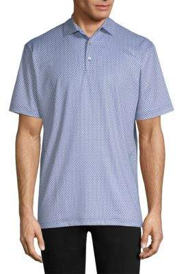 Peter Millar Guitar Print Polo Shirt