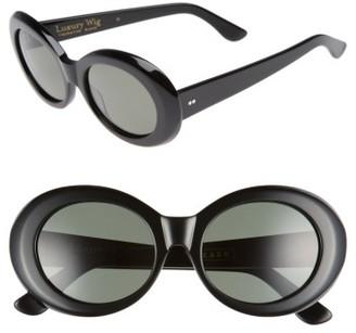 Women's Raen X Alex Knost Luxury Wig Figurative 53Mm Sunglasses - Black $150 thestylecure.com