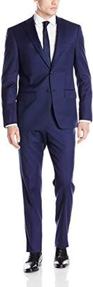 DKNY Men's Dominic Slim Fit Single Breast 2 Button Suit