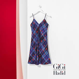 Tommy Hilfiger Relaxed Fit Silk Slip Dress Gigi Hadid
