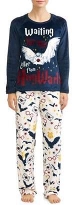 Harry Potter Women's and Women's Plus Pajama Set