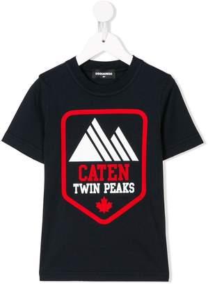 DSQUARED2 Twin Peaks print T-shirt