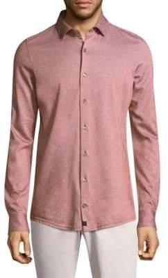 Strellson Santos Cotton Button-Down Shirt