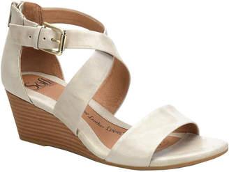 Sofft Mauldin Wedge Leather Sandal