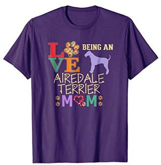 Airedale Terrier Gifts Love Being Airedale Terrier Mom