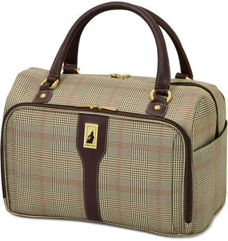 "London Fog Knightsbridge 17"" Cabin Tote, Available in Brown and Grey Glen Plaid, Created for Macy's"