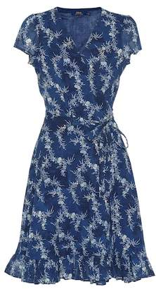 Polo Ralph Lauren Floral cotton wrap dress