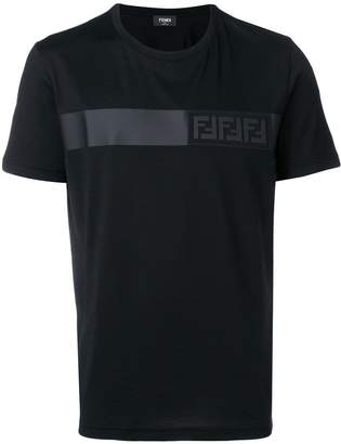 Fendi logo strip T-shirt