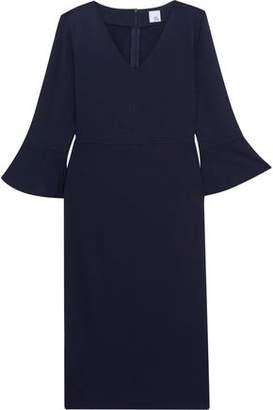 Iris & Ink Violet Ponte Midi Dress