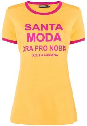 Dolce & Gabbana printed slim-fit T-shirt