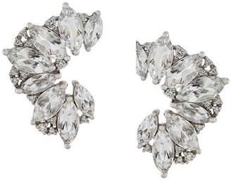 Elise Dray topaz & diamond earrings