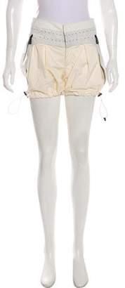 Moncler Two-Tone Polka Dot Shorts