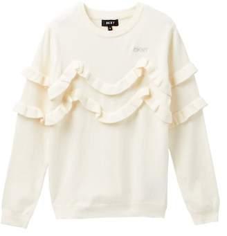 DKNY Ruffled Sweater (Big Girls)