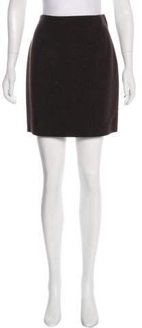 Lanvin Wool Mini Skirt w/ Tags