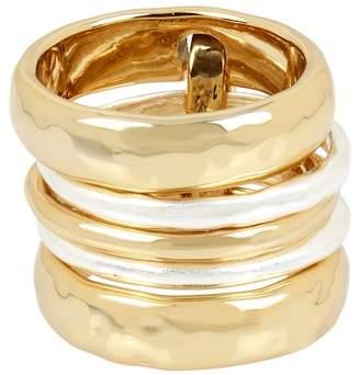 Robert Lee Morris Linked Stack Ring Set - Size 8.5