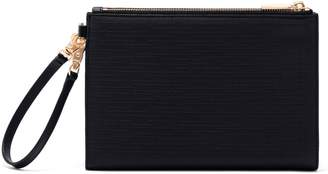 Dagne Dover Signature Essentials Coated Canvas Clutch/Wallet