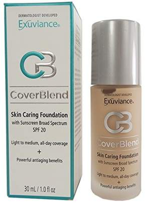 Exuviance CoverBlend Skin Caring Foundations SPF 20 Bisque by