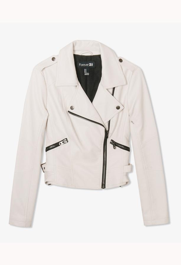 Forever 21 Futuristic Moto Jacket