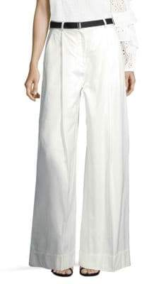 Robert Rodriguez Cotton Wide-Leg Pants