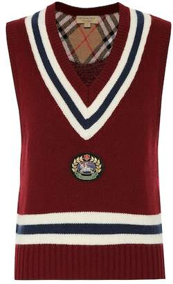 Burberry Wool and cashmere vest