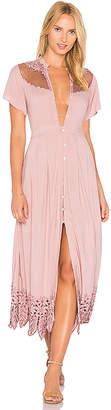 Cleobella Zahara Midi Dress in Purple $253 thestylecure.com