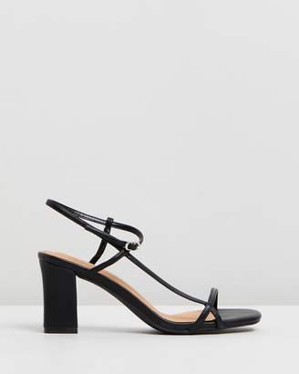 Hannah Thin Strap Block Heels