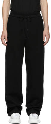 3.1 Phillip Lim Black Wide-Leg Sweatpants