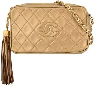 5ec089c6cee8 Chanel Pre-Owned Quilted Fringe Chain Shoulder Bag