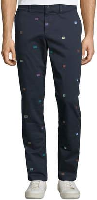 Original Penguin Men's Cassette Tape Cotton Stretch Pants