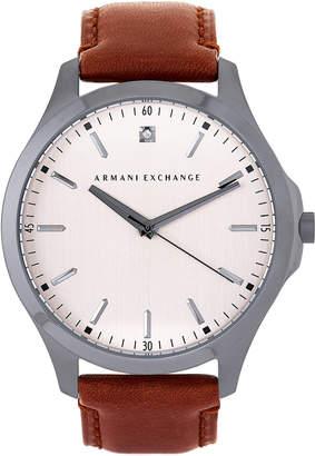 Armani Exchange AX2195 Gunmetal & Brown Watch