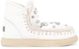 Mou Eskimo Sneaker embellished boots