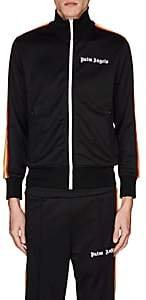 Palm Angels Men's Rainbow-Striped Track Jacket - Black