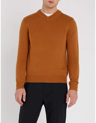 Sandro V-neck cashmere jumper
