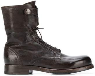 Alberto Fasciani mid-calf lace-up boots
