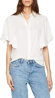 Dorothy Perkins Women's Frill SS Blouse