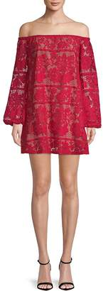 For Love & Lemons Women's Precioso Off-The-Shoulder Mini Dress