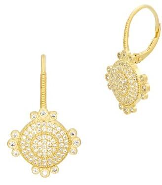 Women's Freida Rothman Amazonian Allure Pave Drop Earrings $175 thestylecure.com