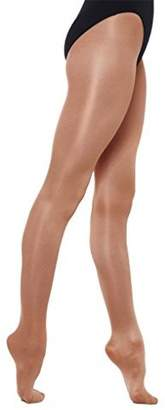 Silky Adult Dance Shimmer Footed Tights-XL