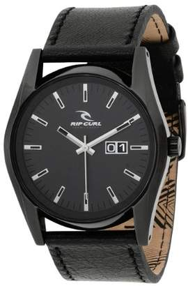 Rip Curl Men's A2296 Oxford Leather Black Watch