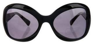 Giorgio Armani Tinted Oversize Sunglasses