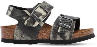 Birkenstock Camo Print Faux Leather Sandals