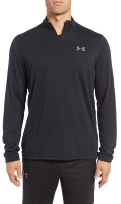 Men's Under Armour Threadborne Quarter-Zip Performance Shirt $44.99 thestylecure.com