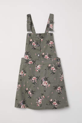H&M Bib Overall Dress - Green